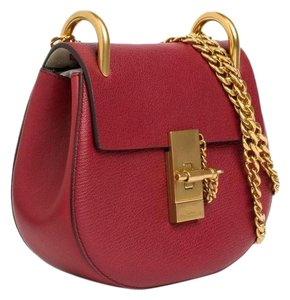 Chloé Drew Shoulder Golden Hardware Chain Strap Cross Body Bag