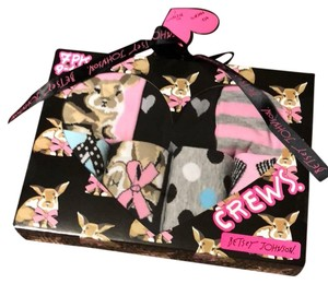 Betsey Johnson High Fashion 7 Sock Bunny box