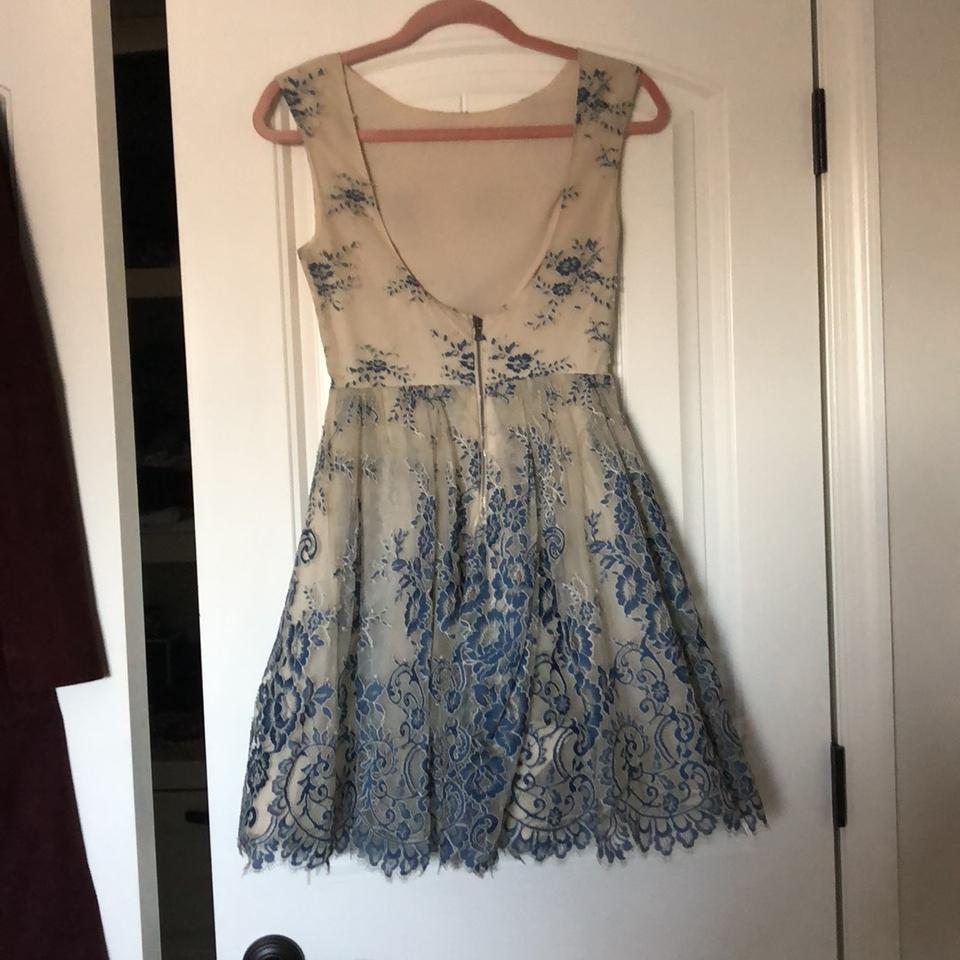 Alice Formal Blue Dress and Nude Olivia HwHqFZ4r