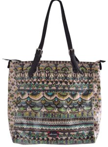 Sakroots Tote in green & brown