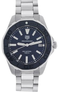 TAG Heuer Tag Heuer WAY131S Aquaracer Blue Mother of Pearl Dial Ladies Watch