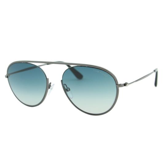 Preload https://item1.tradesy.com/images/tom-ford-gunmetal-new-2018-keith-02-ft0599-08w-round-55mm-bridge-less-sunglasses-22654200-0-0.jpg?width=440&height=440