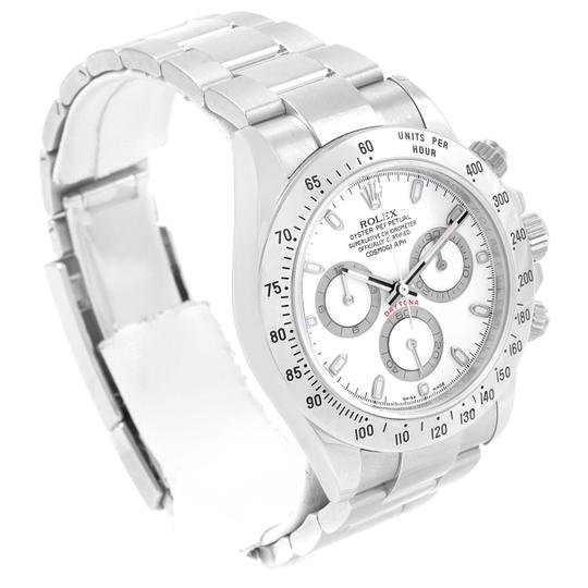 Rolex Rolex Cosmograph Daytona White Dial Chronograph Watch 116520 Box Card