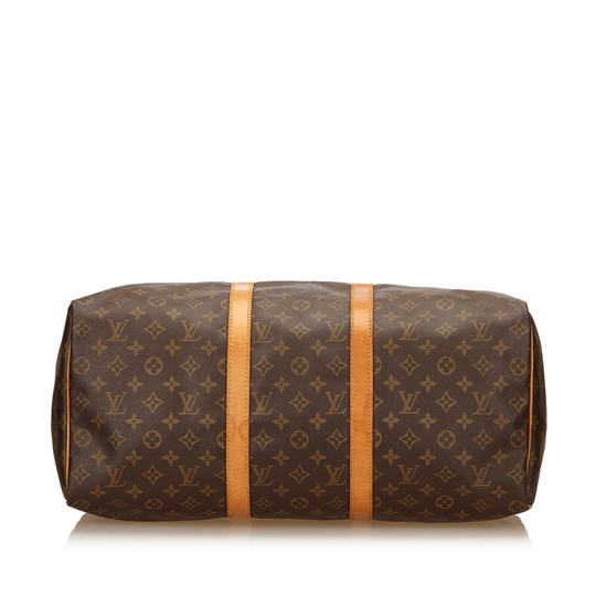 Louis Vuitton 7ilvdb014 Brown Travel Bag