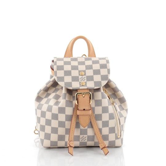 Preload https://item1.tradesy.com/images/louis-vuitton-canvas-backpack-damier-azur-22655330-0-0.jpg?width=440&height=440