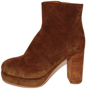 See by Chlo Whisky Brown Platform Bootie Boots
