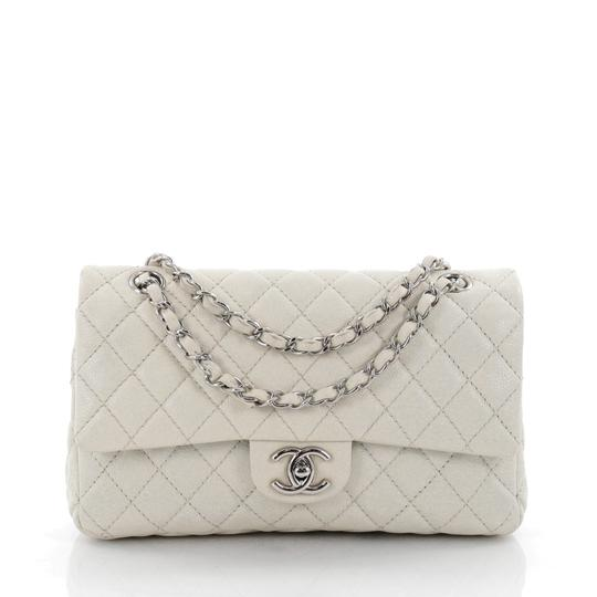 Preload https://item2.tradesy.com/images/chanel-classic-flap-classic-double-quilted-caviar-medium-mint-green-leather-shoulder-bag-22655386-0-0.jpg?width=440&height=440
