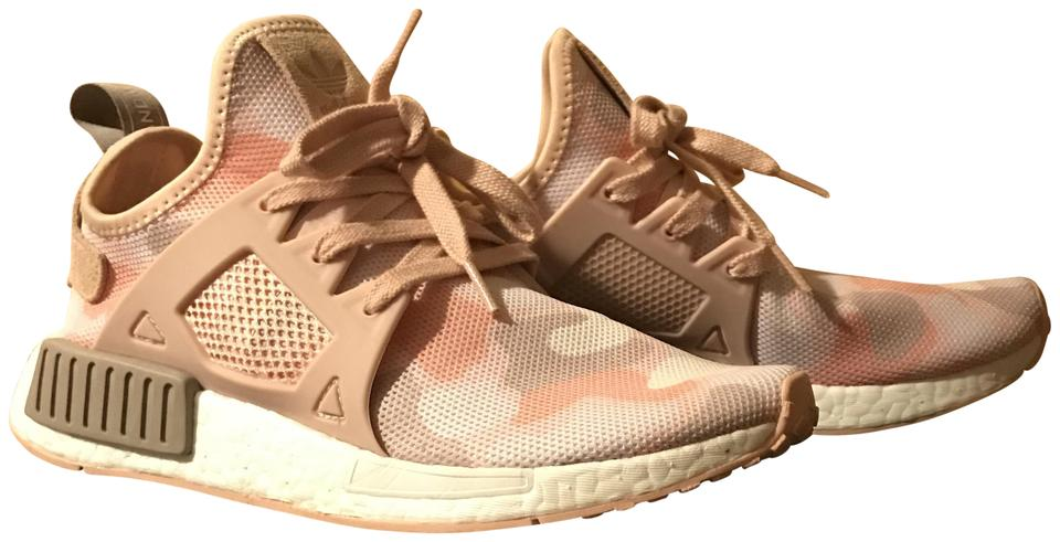 Pink W Nmd Xr1 Camo Sneakers