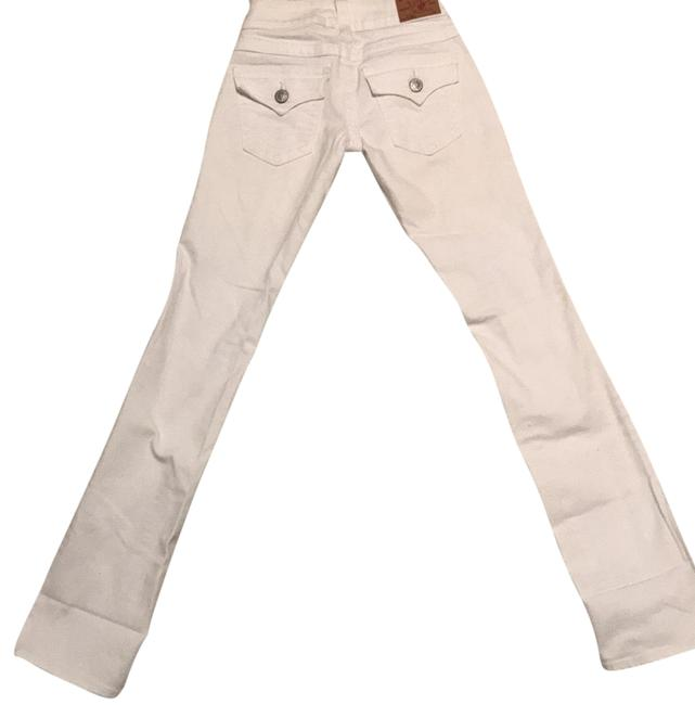 Item - White Billy Straight Leg Jeans Size 24 (0, XS)