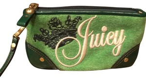 Juicy Couture Wristlet in green
