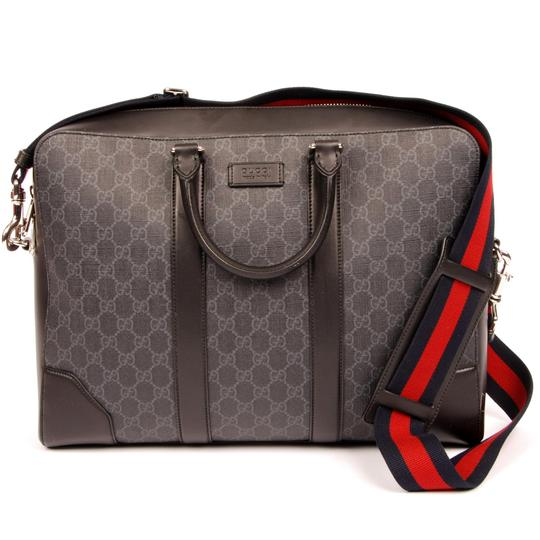 Gucci Crossbody Black Grey Messenger Bag