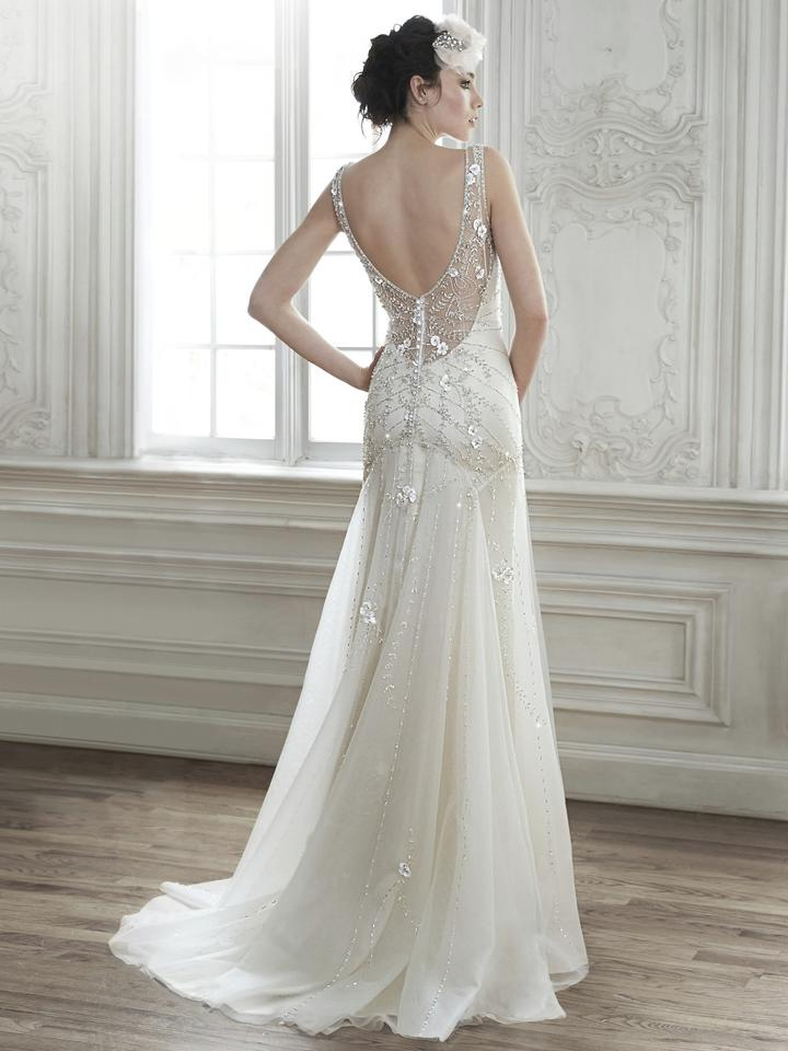 maggie sottero ivory sottero demi dress pre owned sexy