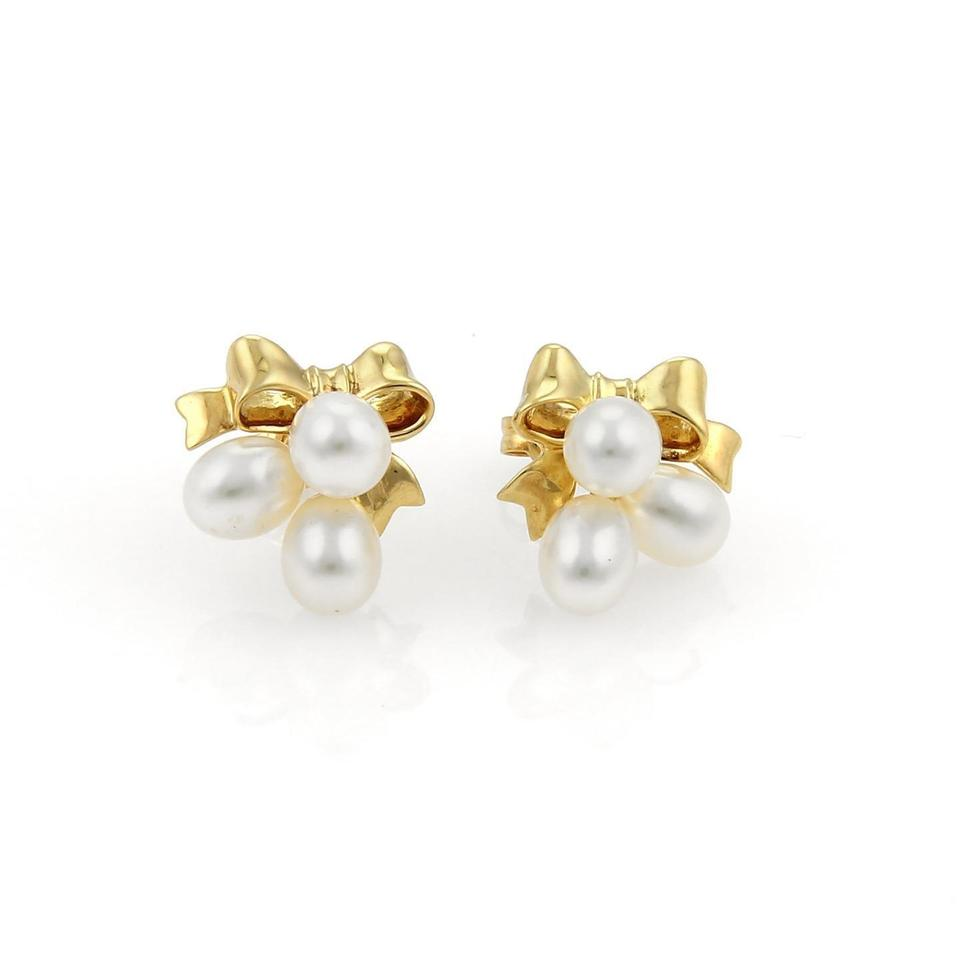 cultured and jewels golden pearl earrings s nyr christies diamond online flower mikimoto