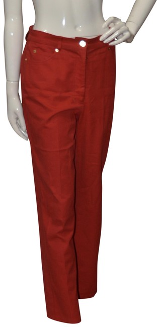 Item - Red Sport Signature Jeans By Marie Grey Pants Size 6 (S, 28)