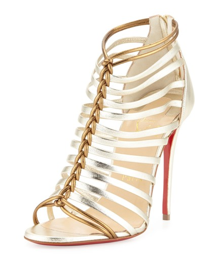 Preload https://item3.tradesy.com/images/christian-louboutin-gold-milla-metallic-strappy-red-sole-bootie-light-pumps-size-eu-41-approx-us-11--22656692-0-0.jpg?width=440&height=440