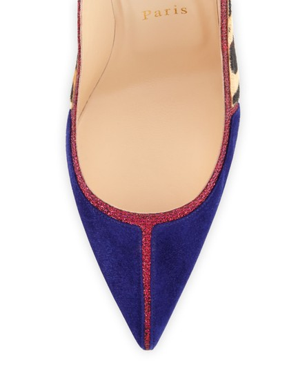 Christian Louboutin Serianina Soles gold/violet/red/green Pumps