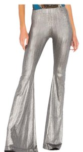 Show Me Your Mumu Flare Pants silver