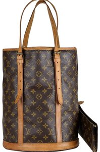 Louis Vuitton Bucket Old Model Monogram Shoulder Bag