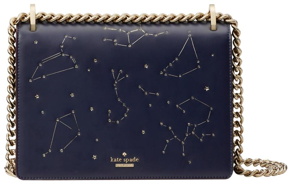 f1d73d4719f13a Kate Spade Star Bright Light Up Constellation Marci Navy Shoulder ...