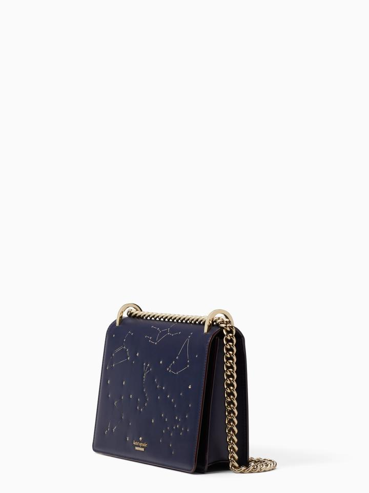1df42c3f12c610 Kate Spade Star Bright Light Up Constellation Marci Navy Shoulder Bag -  Tradesy