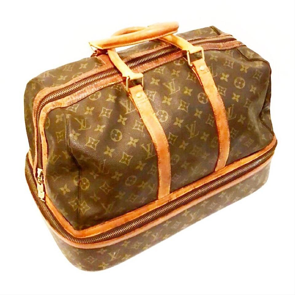 louis vuitton vintage monogram sac sport satchel tradesy. Black Bedroom Furniture Sets. Home Design Ideas