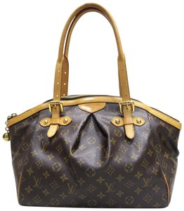 Louis Vuitton Lv Canvas Tivoli Gm Shoulder Bag
