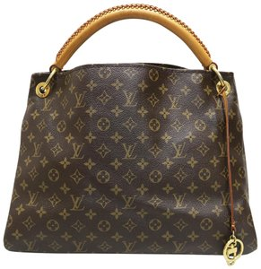 Louis Vuitton Lv Artsy Canvas Hobo Bag