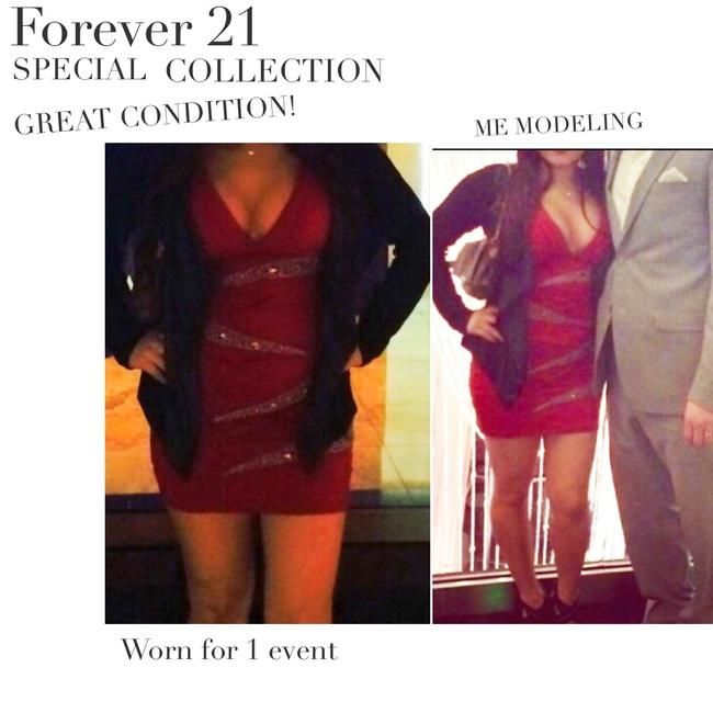 Forever 21 21 Special Collection Night Out Mini Dress