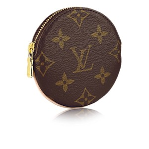 louis vuitton brown porte new round coin purse monnaie monogram zippy m61926 wallet tradesy. Black Bedroom Furniture Sets. Home Design Ideas