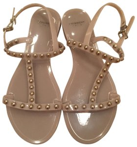 Givenchy Studded Gladiator Nude/Beige Sandals