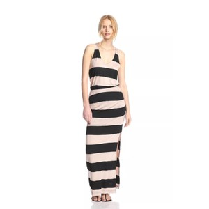 black & tan Maxi Dress by Splendid