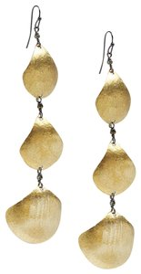 Lucky Brand lucky brand brushed metal earring