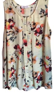 Rose & Olive Top pale yellow