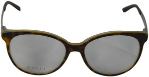 Gucci Havana Eyeglasses with Clear Demo Lens Model GG3677 4WJ