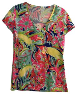 Lilly Pulitzer T Shirt Casa Banana