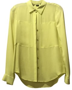 Theory Top Bright Yellow
