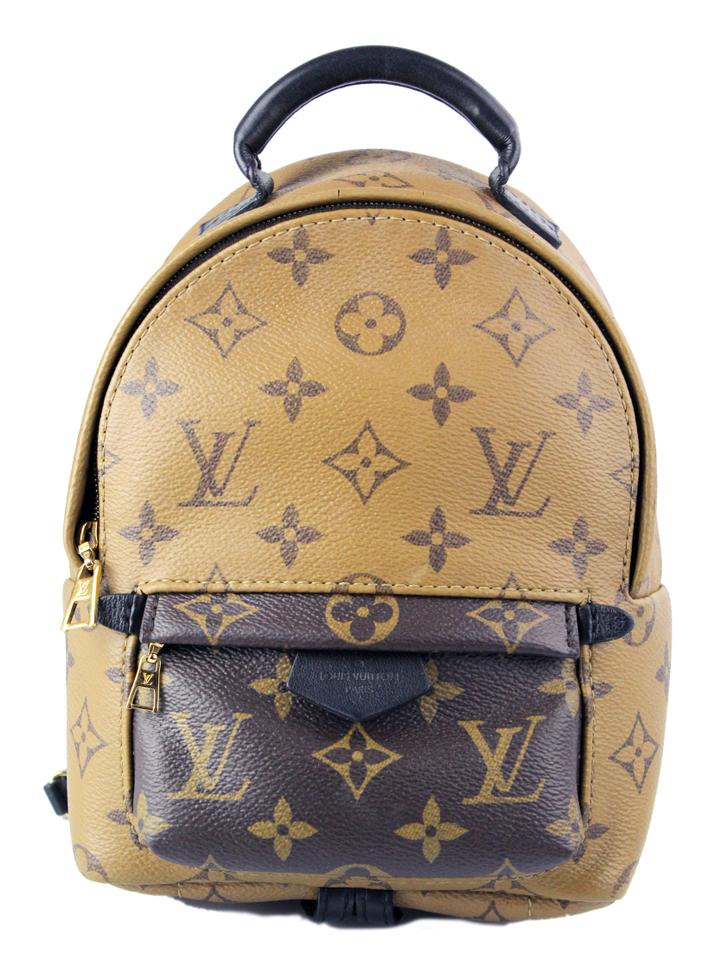 6cdcaa567ad Louis Vuitton Palm Springs Mini Reverse Monogram Canvas Backpack 21% off  retail