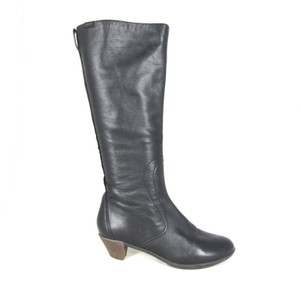 Camper Soft Leather Knee-high black Boots