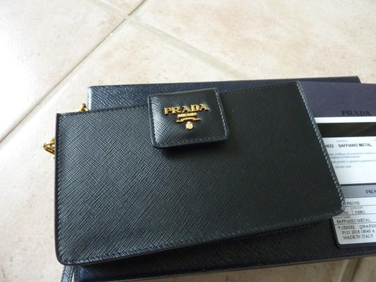 b51db871ad07 Prada Leather Wallet With Strap | Stanford Center for Opportunity ...