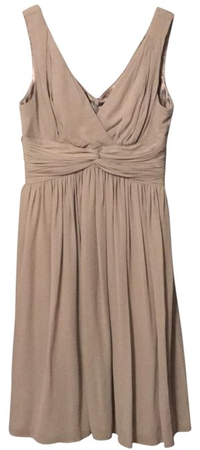 Item - Soft Gray Mid-length Cocktail Dress Size 0 (XS)