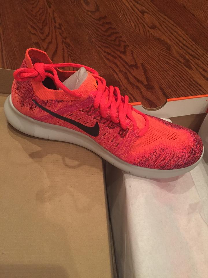 official photos 4b588 b48ca Nike Solar Red Free Rn Flyknit Sneakers Size US 7.5 Regular (M, B) 34% off  retail