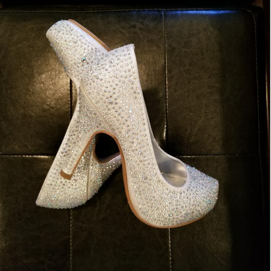 Preload https://img-static.tradesy.com/item/22660784/silver-with-iridescent-crystal-rhinestones-lucy-16-formal-shoes-size-us-65-regular-m-b-0-2-540-540.jpg