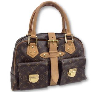 Louis Vuitton Speedy Denim Speedy Alma Neverfull Satchel in Brown