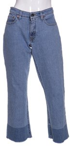 Victoria, Victoria Beckham Capri/Cropped Denim-Distressed