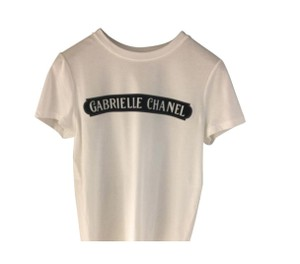 Chanel Gabrielle Sold Out T Shirt White multi