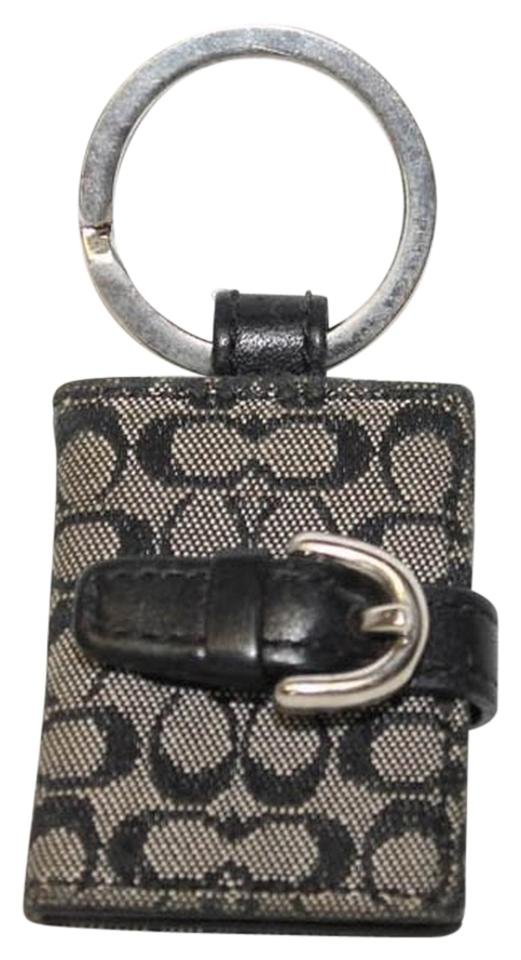 Coach Black Picture Frame Keychain - Tradesy