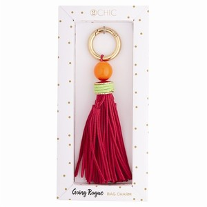 2 Chic 2 chic going rouge bag charm NWT