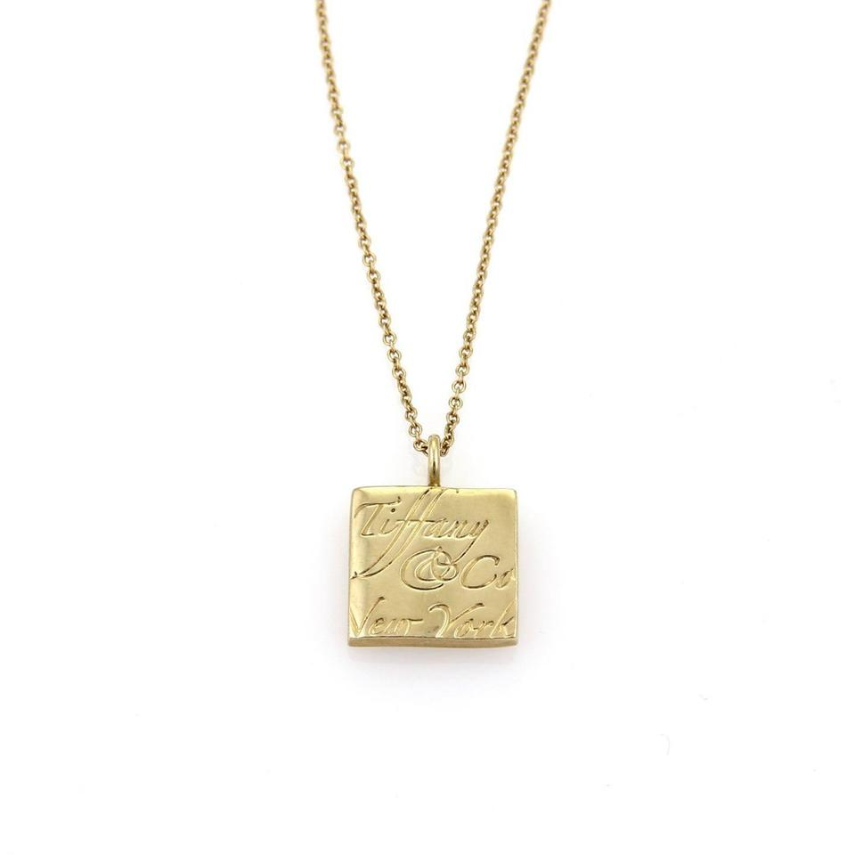 letter mens link box itm chain square filled necklace pendant z women a initial gold
