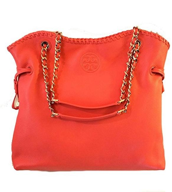 Tory Burch Tote Marion Slouchy Leather Shoulder Bag Tory Burch Tote Marion Slouchy Leather Shoulder Bag Image 3