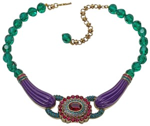 "Heidi Daus Heidi Daus ""Collector's Edition"" Beaded Crystal Bib Drop Necklace"